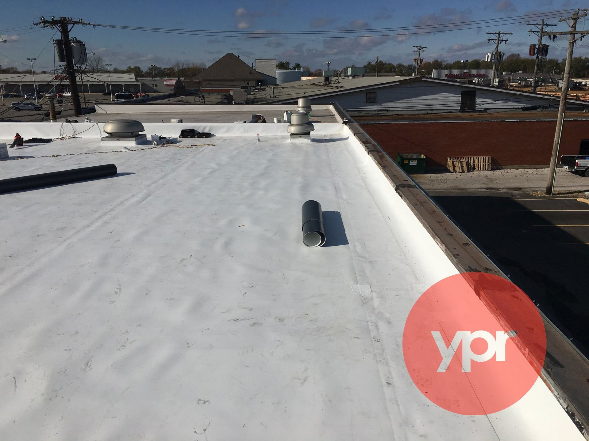 Ongoing roofing service/project