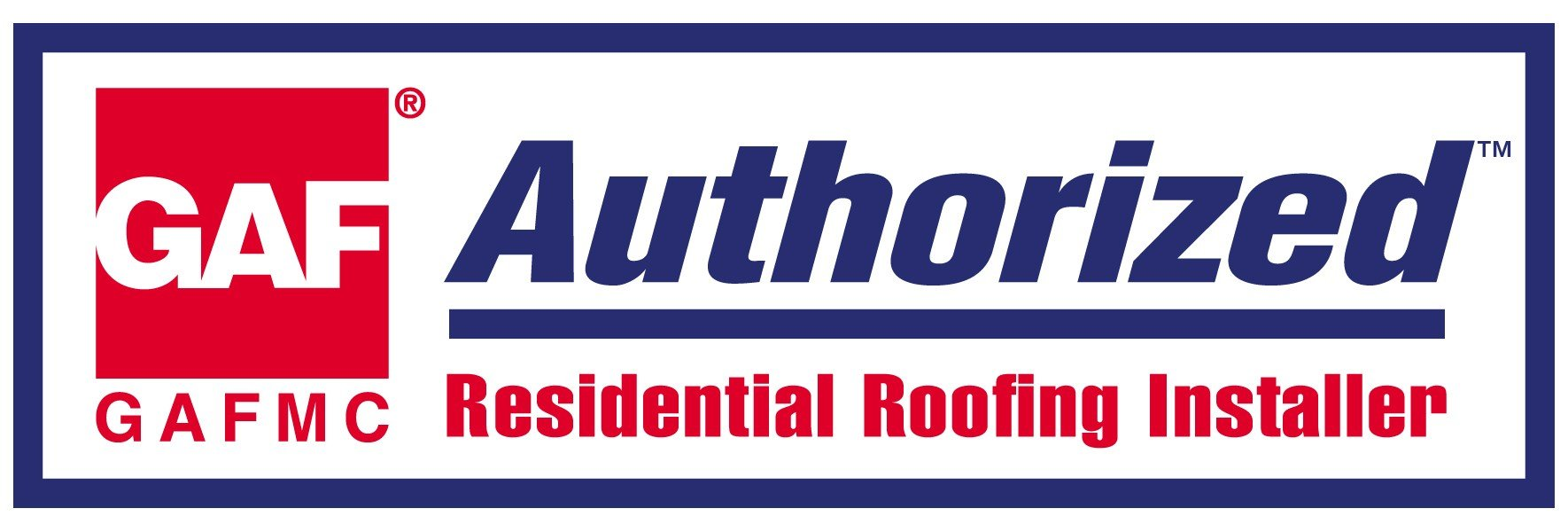 GAF Authorized Residential Roofing Installer - Logo