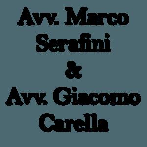 Avvocato Marco Serafini e Avvocato Giacomo Carrella