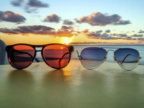 Sunglasses and eyeglasses