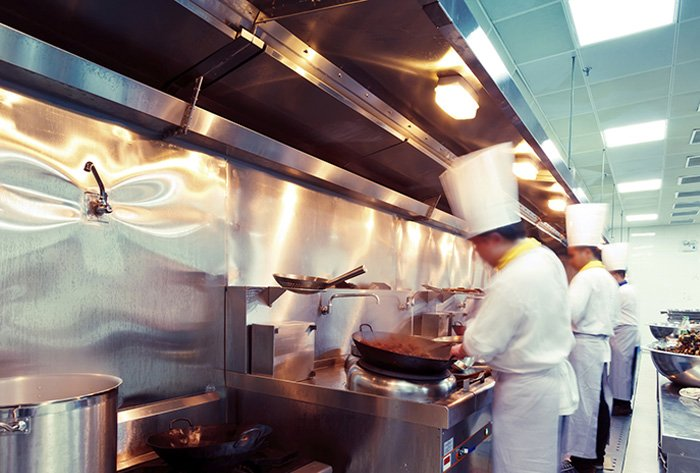 Chefs at work in Burwood restaurants