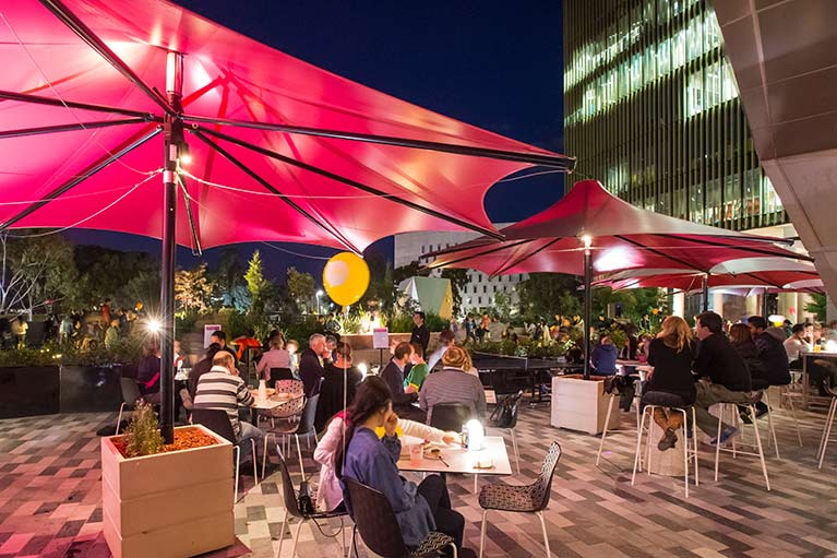 outdoor dining mrs robinson melbourne