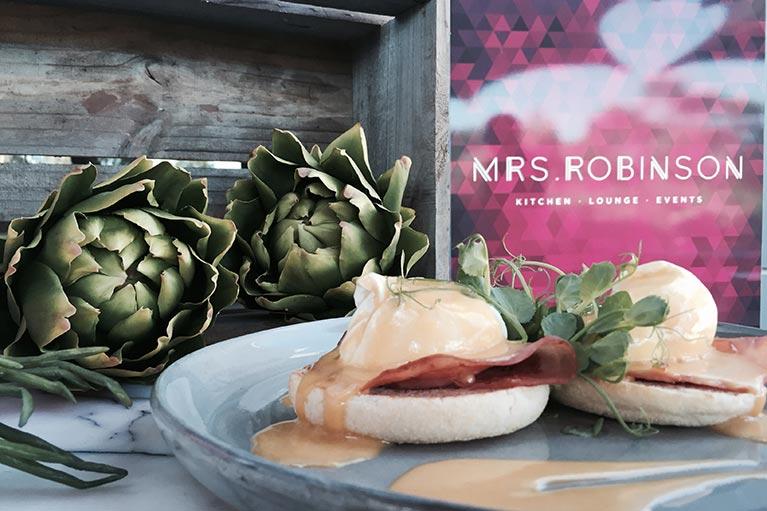 eggs benedict mrs robinson melbourne