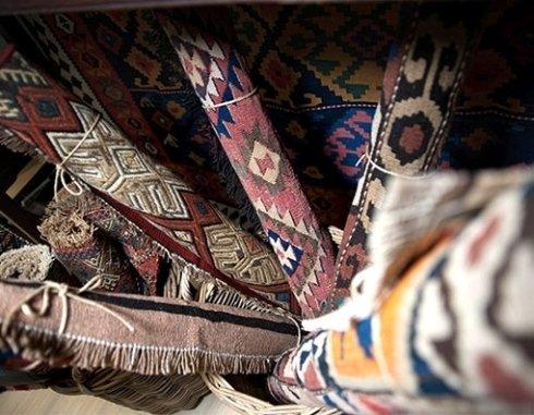 Kilim di piccole dimensioni antichi persiani