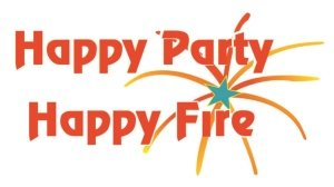 happy party happy fire