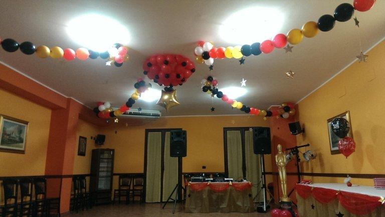 decorazione palloncini