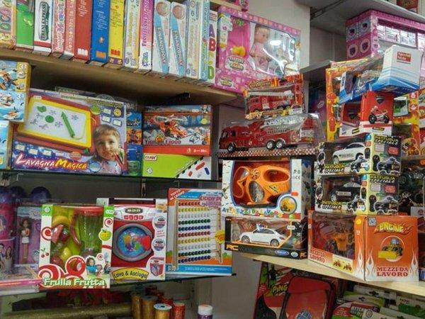 Vendita giocattoli Messina