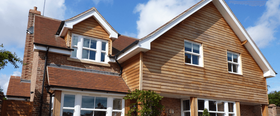 Wooden roof cladding