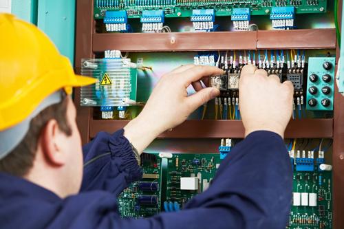 Experienced technician offering electric work in an industrial area in Sutton, NE
