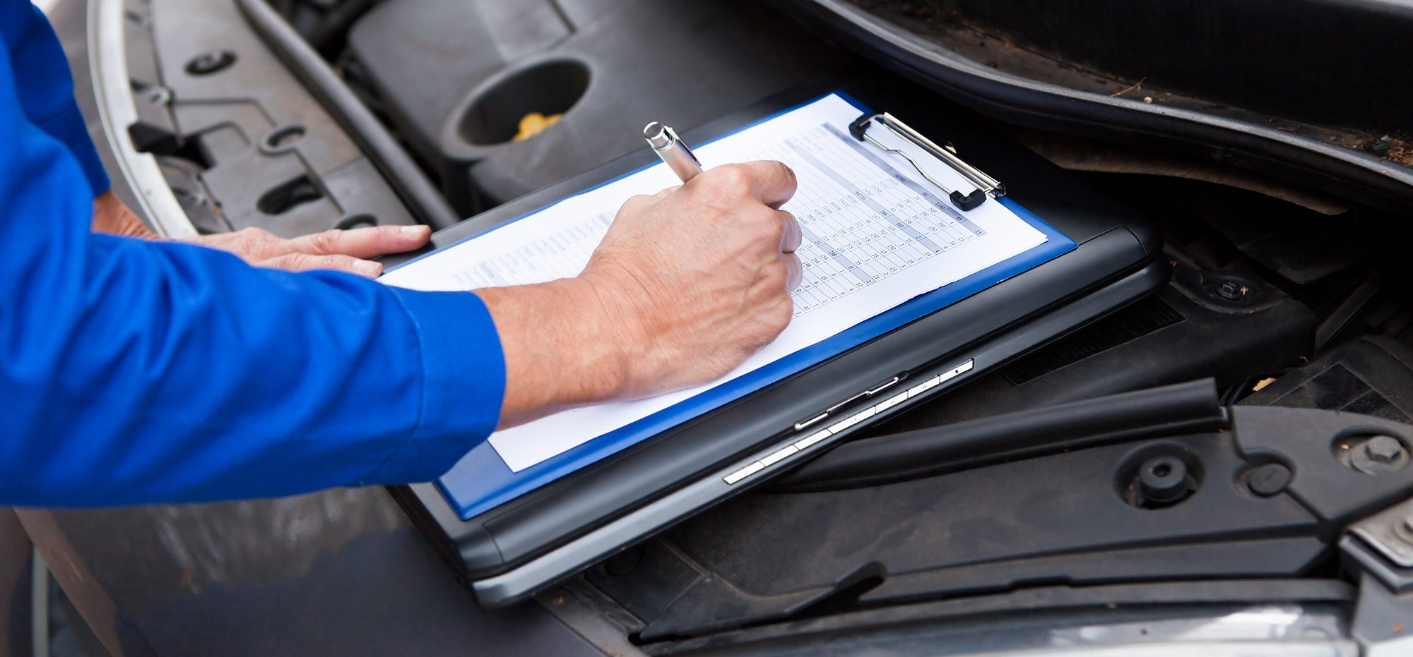 Car vehicle diagnostics checklist