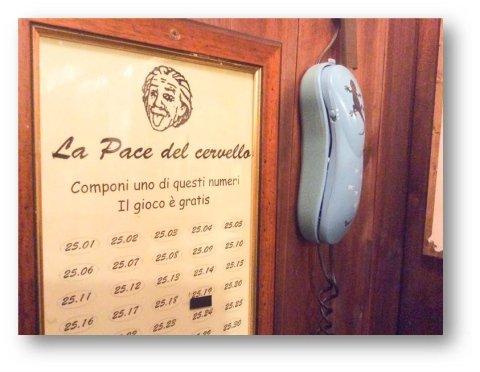 telefonare La Pace del cervello Roma