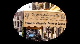 Trattoria romana, cucina romana - La pace del cervello, Roma