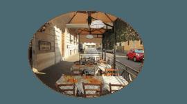 Ristorante con tavoli esterni - La pace del cervello, Roma