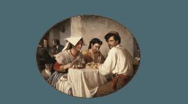 Cucina romana, origini - La pace del cervello, Roma