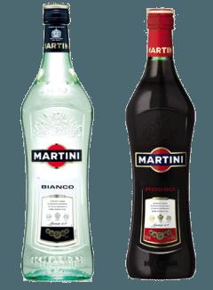 martini bianco e rosso