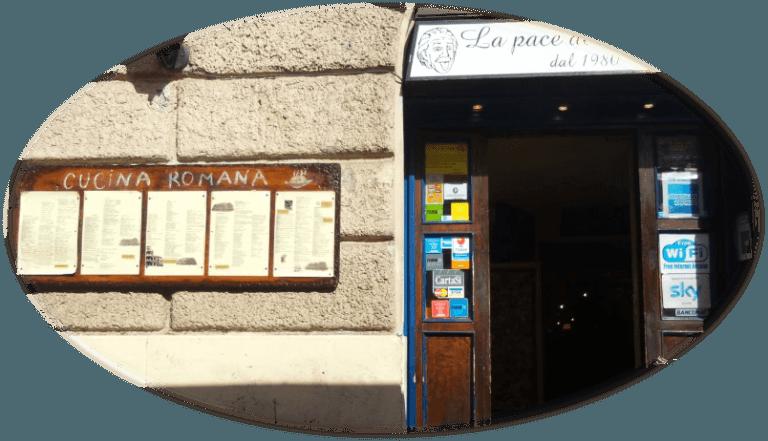 Römische Küche Heute | Typisch Romische Kuche Rom Am Kolosseum La Pace Del Cervello