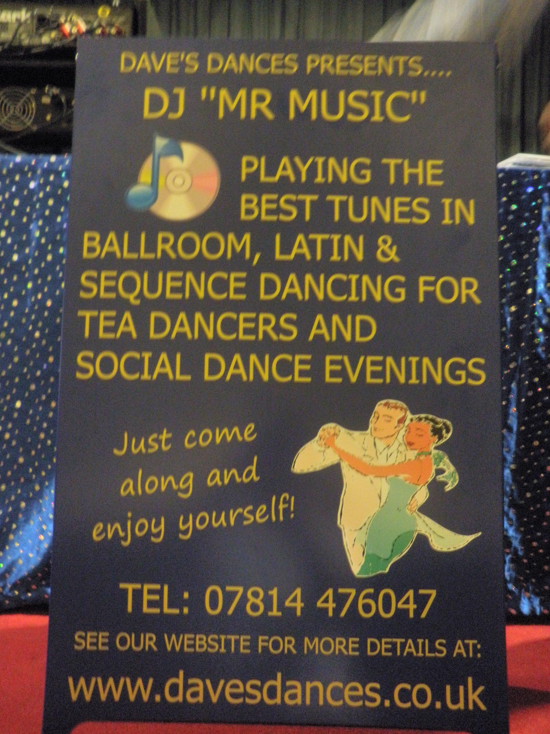 DJ Mr Music advertisement