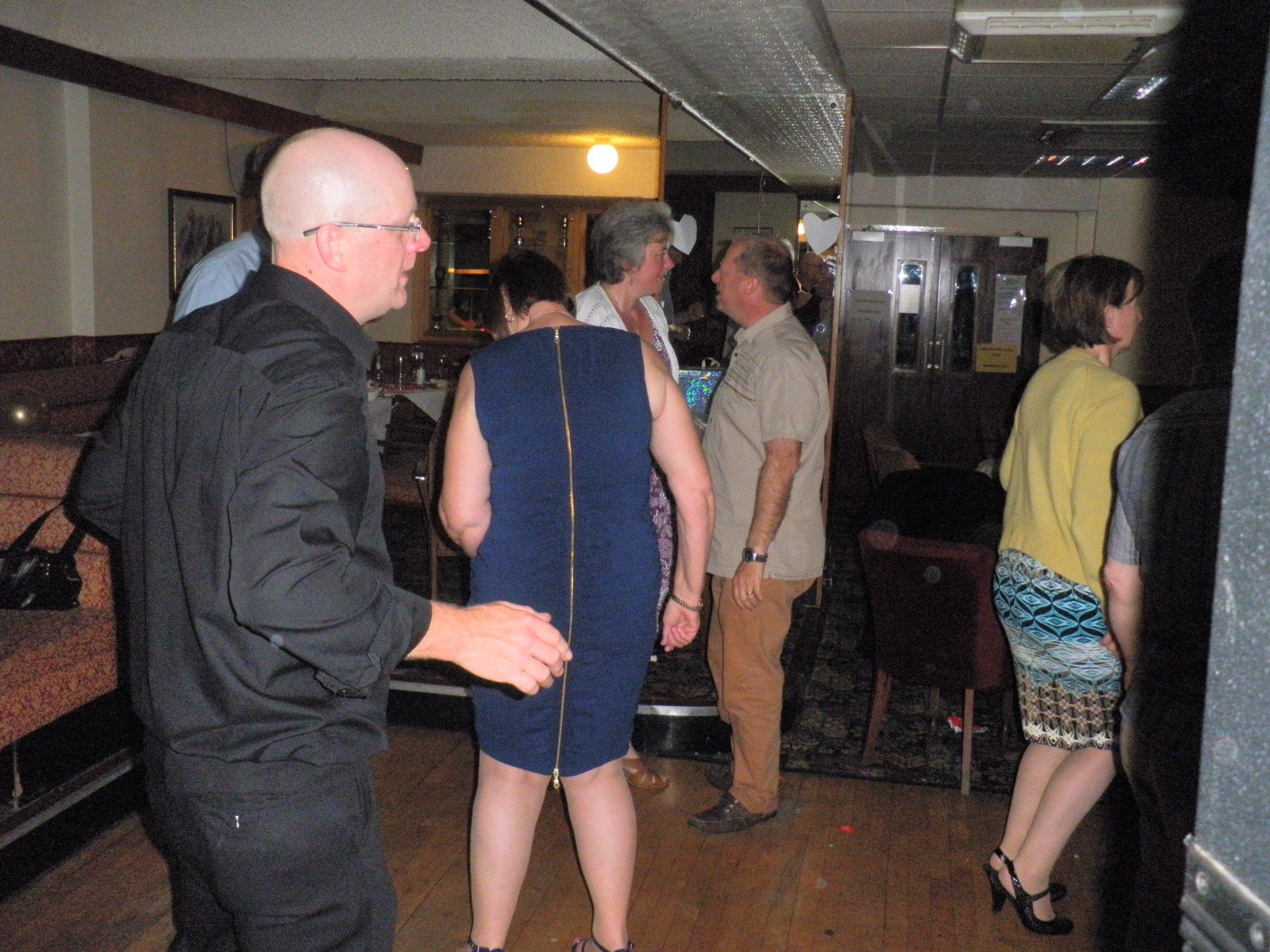 dance evening participants