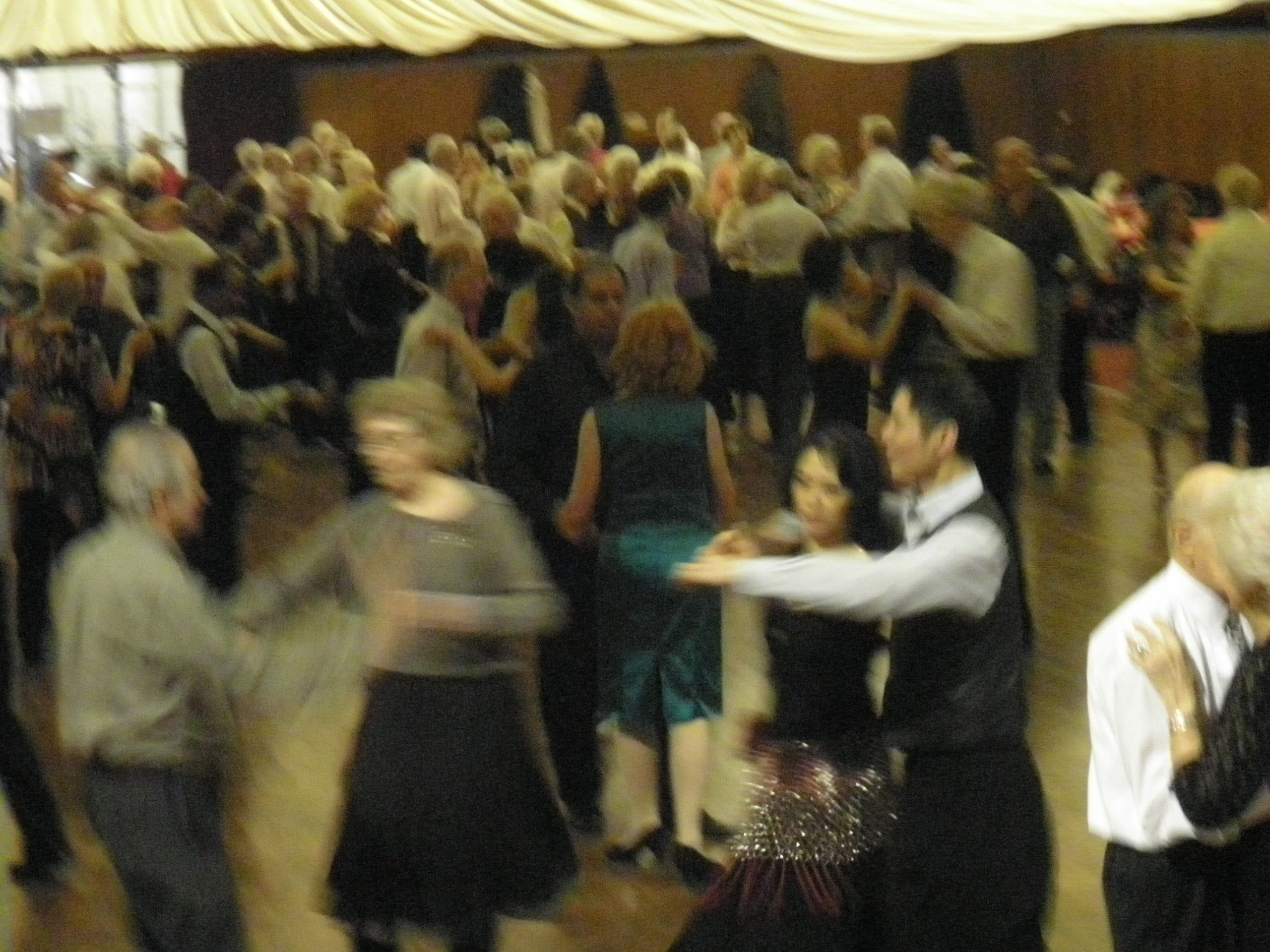 couples enjoying a dance evening