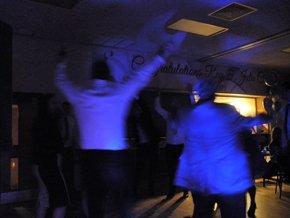gathering enjoying dancing