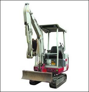 Plant hire equipment - Exmouth, Devon - Trinity Plant & Building Contractors - Mini Digger
