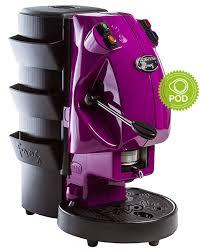 macchinetta per caffè di colore viola