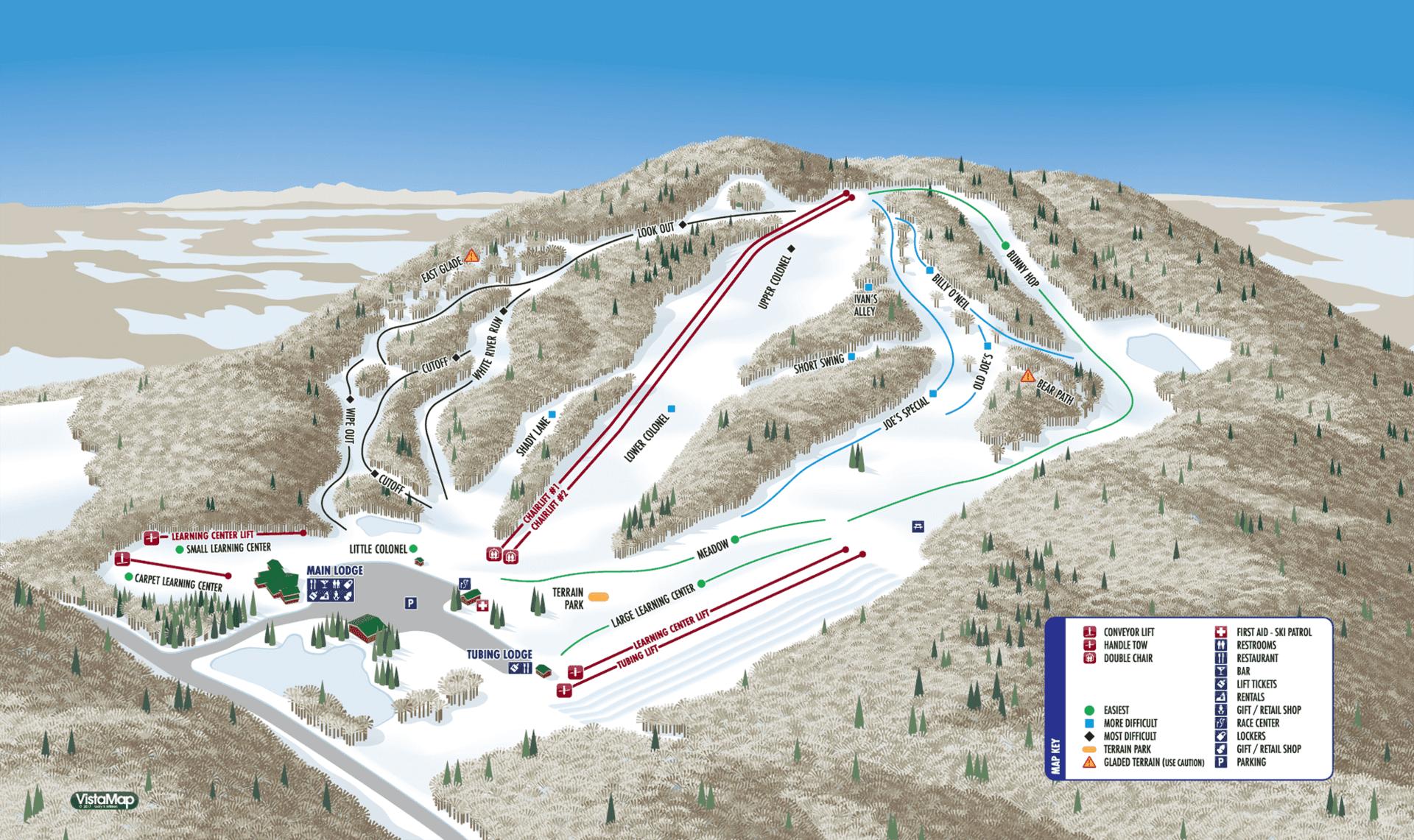 Willard Mountain Trail Map