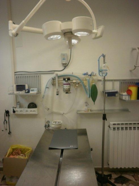 sala operatoria anestesia gassosa