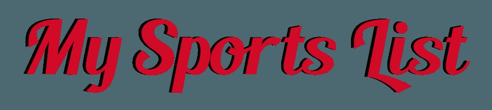 My Sports List