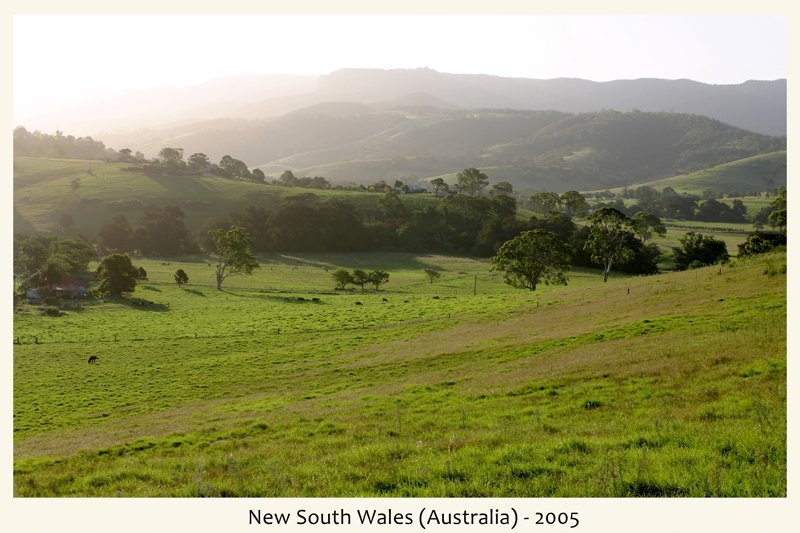 New South Wales in Australia nel 2005