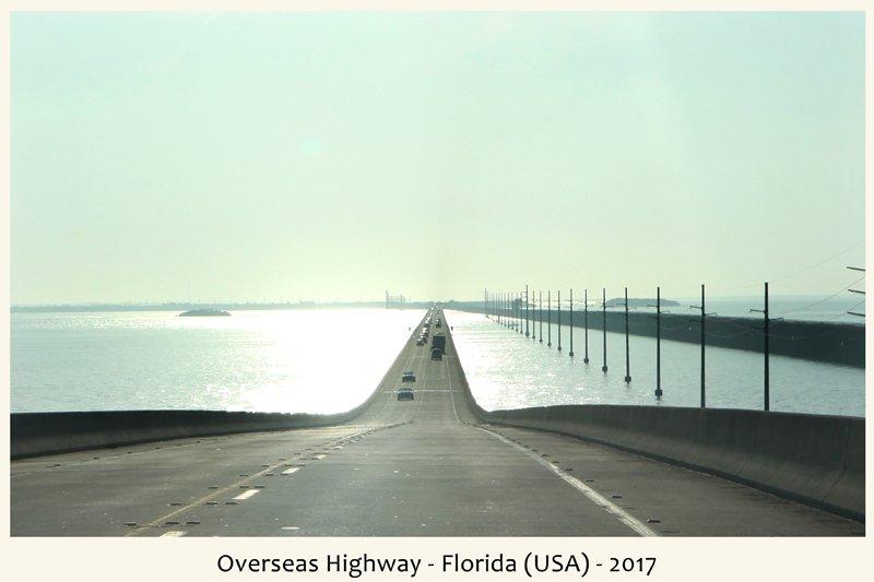 Strada d'oltremare in Florida nel 2017