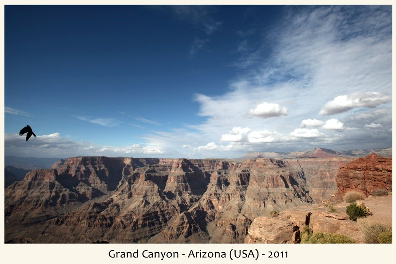 Grand Canyon in Arizona nel 2011