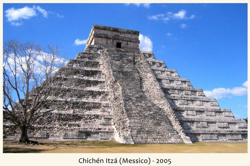 Chichen Itza in Messico nel 2005