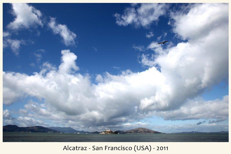 Alcatraz in San Francisco nel 2011