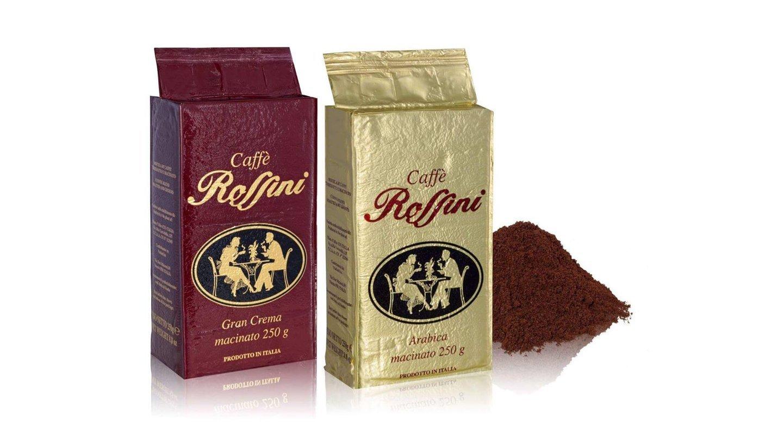 Confezioni di caffè a marchio Rossini