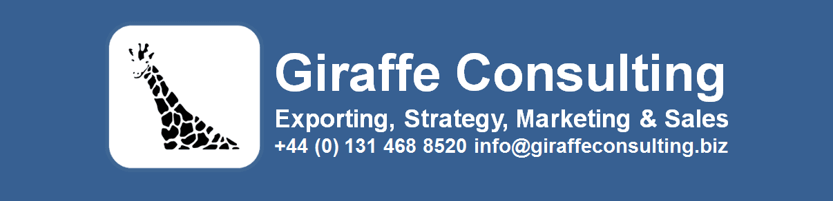 Giraffe Consulting, Exporting, Strategy, Marketing and Sales