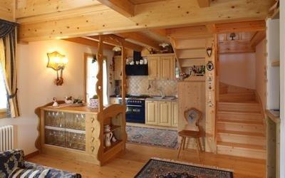 cucina rustica Cadore
