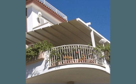 tettoie per terrazzi