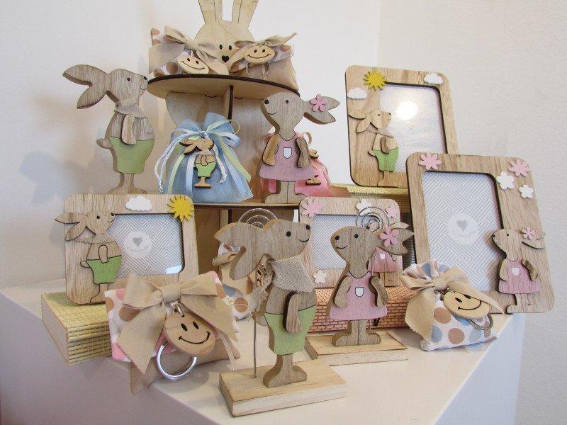 oggetti regalo a forma di coniglio