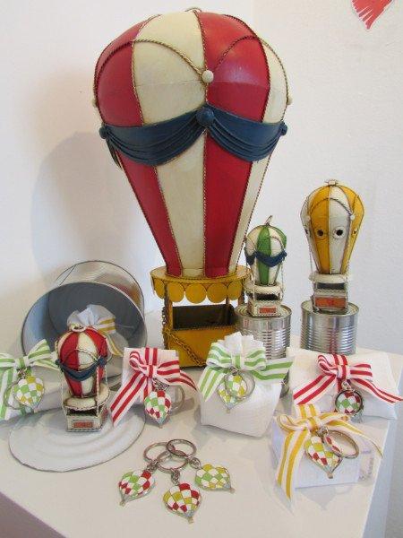 oggetti regalo a forma di mongolfiera