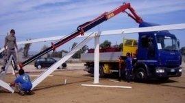 camion per recupero merci, camion di trasporto, camion per movimentazione merci