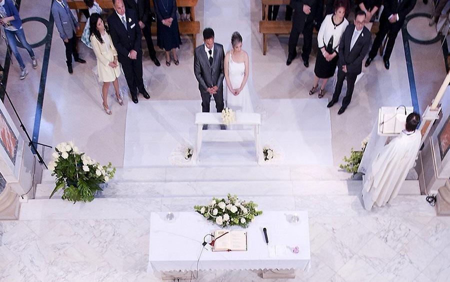 fiori cerimonia nuziale