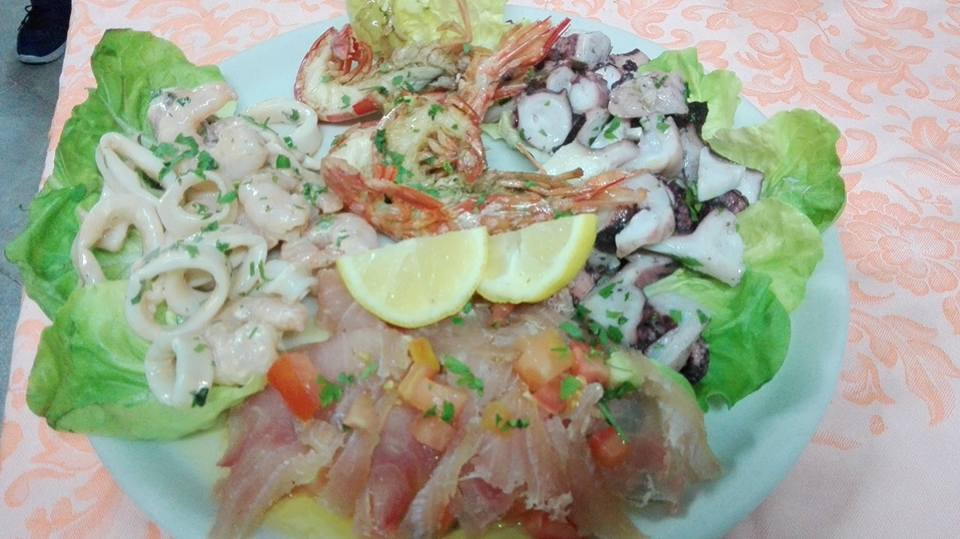 un'insalata di mare
