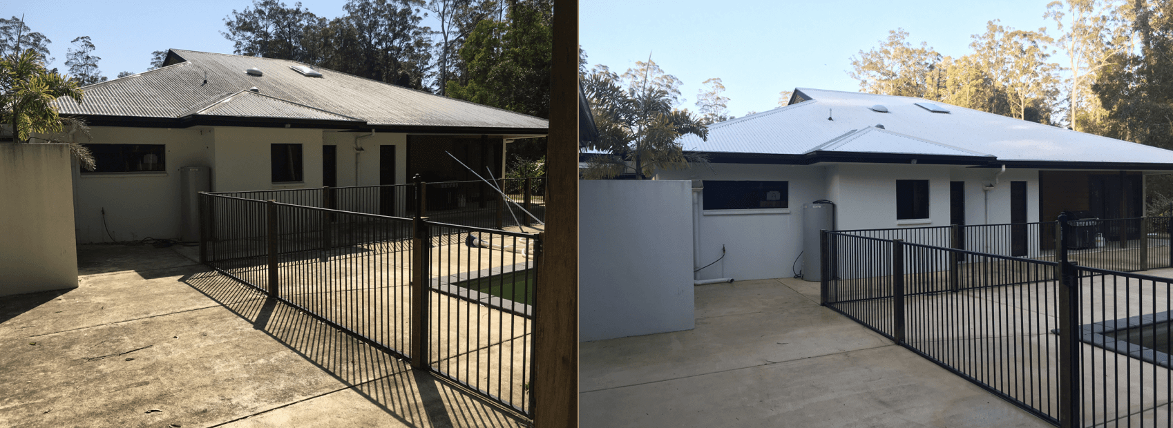 HIGH PRESSURE HOUSE WASHING CLEANING
