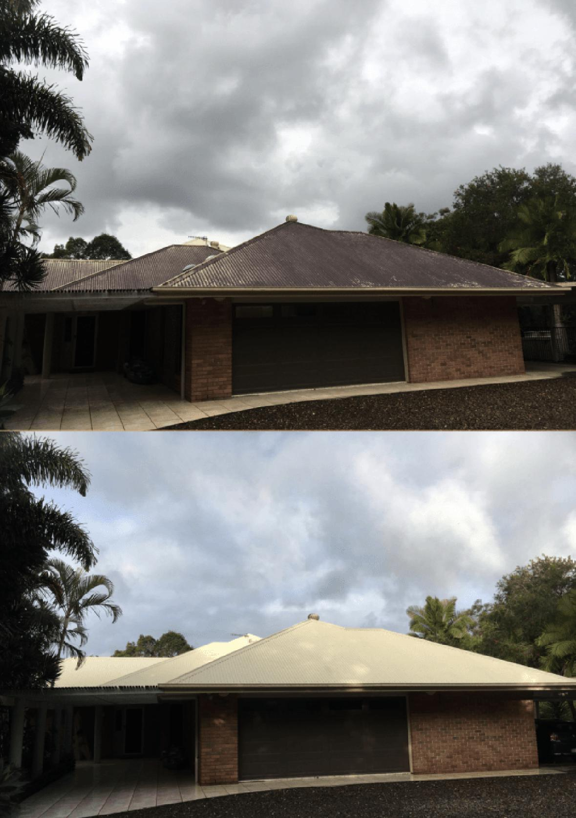 Roof And Gutter Cleaning Sunshine Coast Pressure