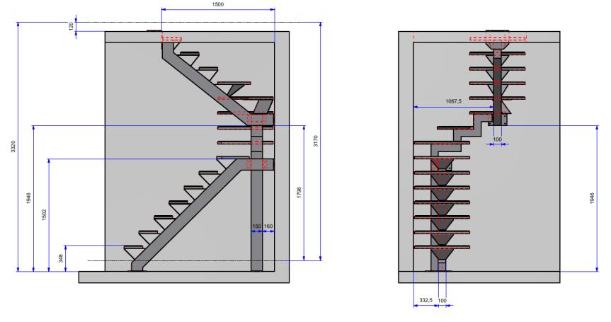 due progetti di alcune scale