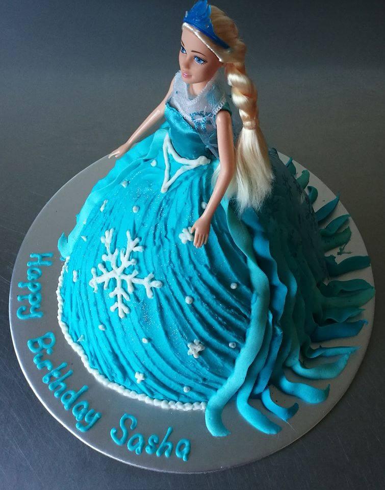 Amazing Princess Doll Birthday Party Cake Auckland