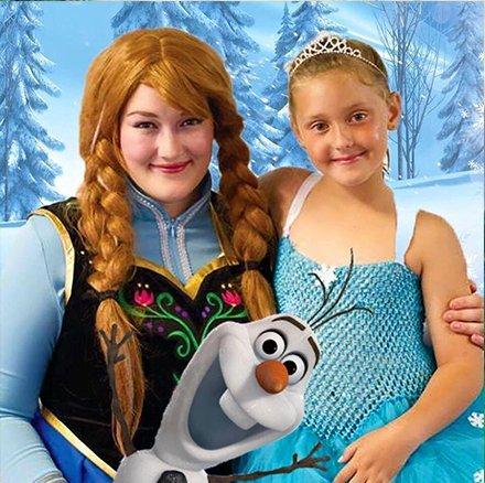 Anna from Frozen Entertainer Auckland