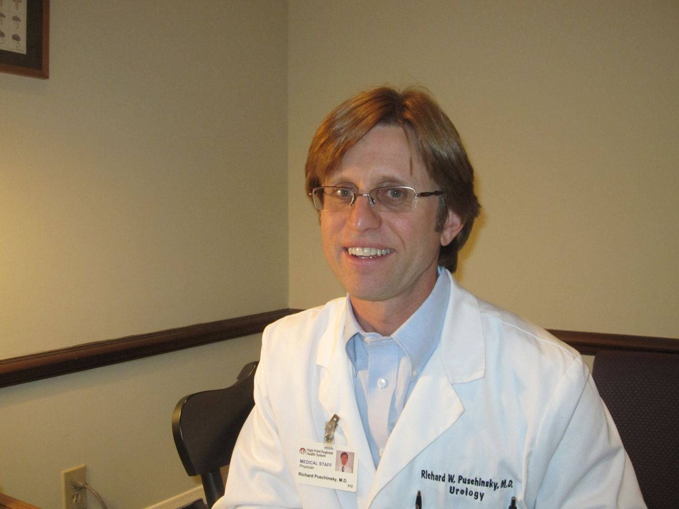 leader of our urological practice team in High Point, NC