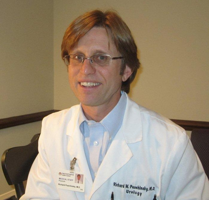 Dr. Puschinsky, Medical Center Urology, High Point NC